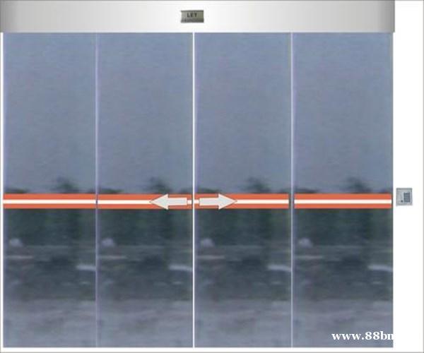 塘沽区钢化玻璃门-自动门安装-做工精细