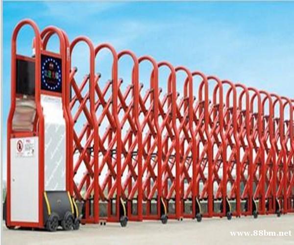 大港区不锈钢伸缩门-安装-电动门服务